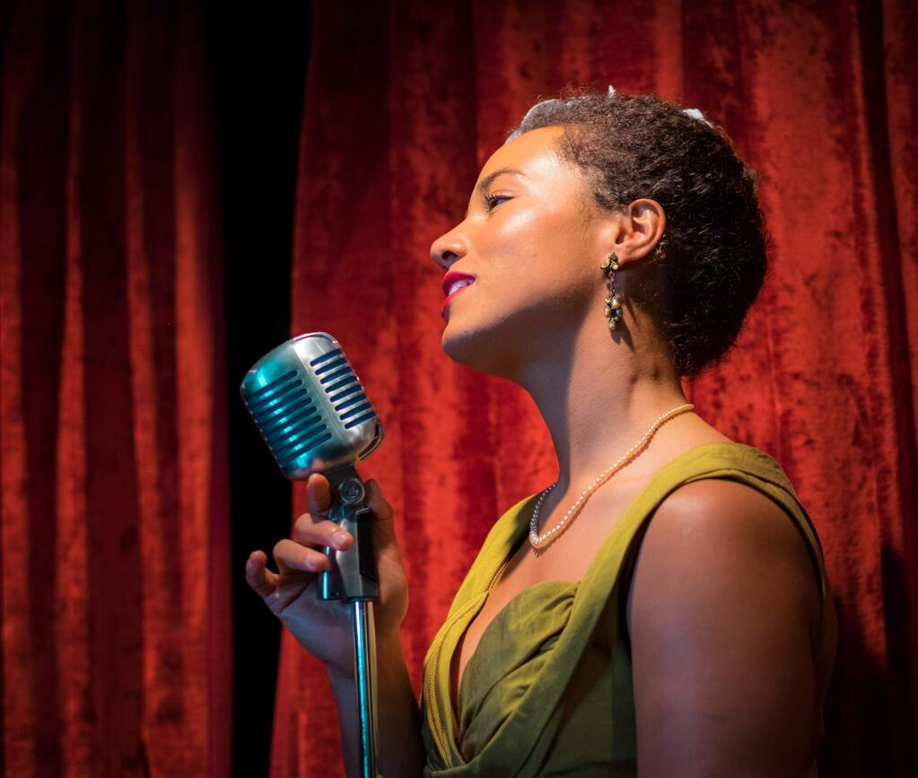 FINE AND MELLOW - Stella Heath of the Billie Holiday Project, performing in September at The Mystic Theatre.