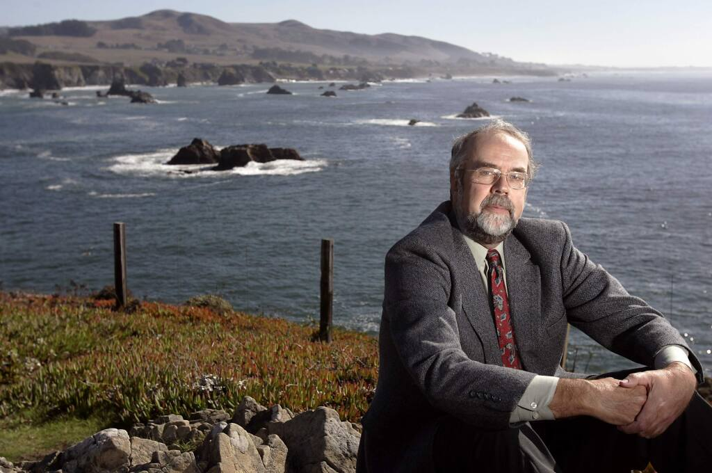 The pristine ocean view north of Bodega Bay in this 2005 file photograph is symbolic of Richard Charter's battles against offshore oil and gas drilling in California and around the nation. (Christopher Chung/The Press Democrat)