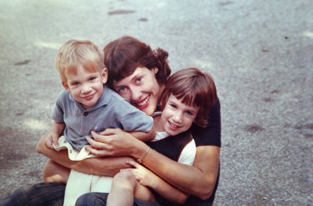 Ruth Paine is pictured with her two children Chris and Lynn shortly before John F. Kennedy's assassination in 1963. Pain had Lee Harvey Oswald's wife and children living at her home in Dallas at the time of John F. Kennedy's assassination.