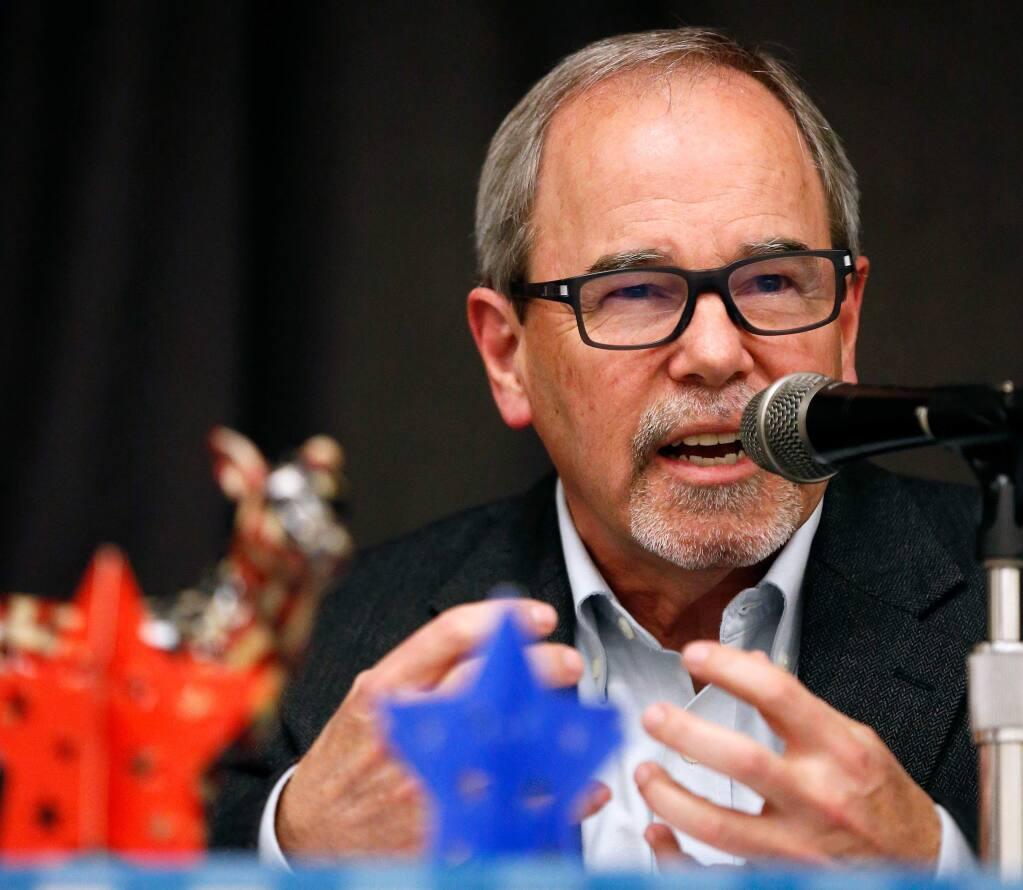 Former Santa Rosa Mayor Chris Coursey is a candidate for Sonoma County supervisor. (ALVIN JORNADA / The Press Democrat)