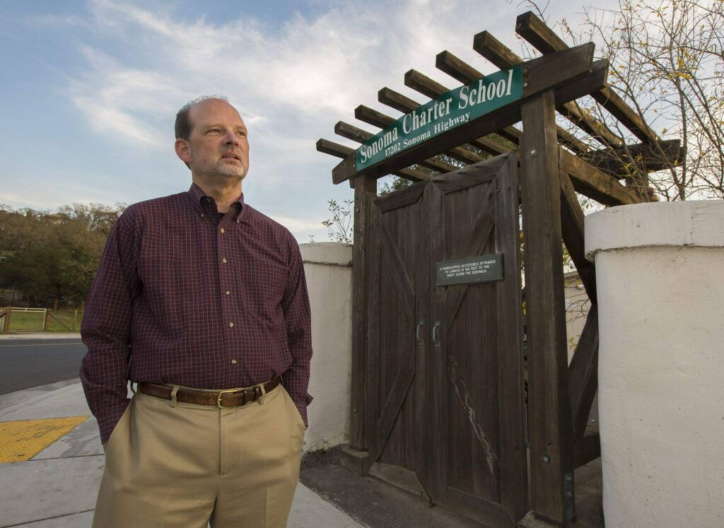 Marc Elin, director of the Sonoma Charter School. (Robbi Pengelly / Index-Tribune)