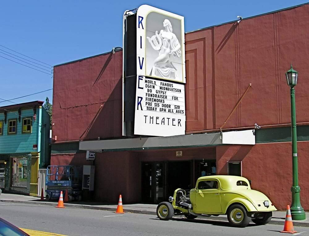 The River Theater in Guerneville.