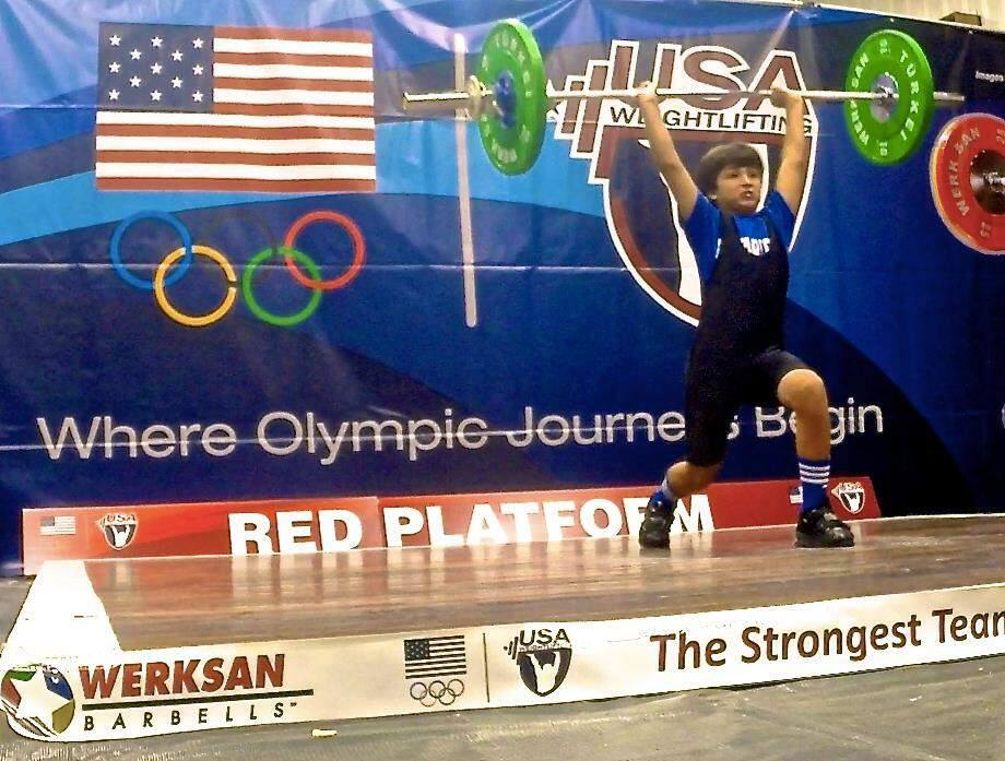 Soccer standout William Prokop is not only a soccer standout, but also a national champion weightlifter.