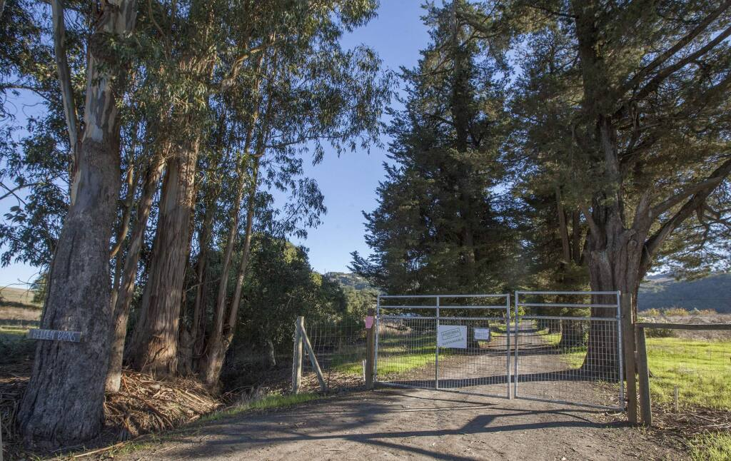 Remote Sonoma Mountain Road leads to Belden Barns half-way up its winding length. (Photos by Robbi Pengelly/Index-Tribune)