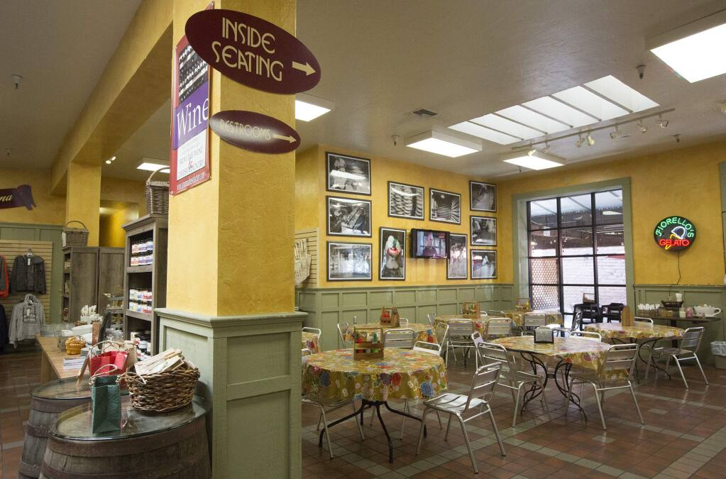 In case you forgot, the interior of the Sonoma Cheese Factory on the Plaza, which has been closed since Dec. 31, 2018. (Photo by Robbi Pengelly/Index-Tribune)