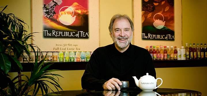Ron Rubin, owner of The Republic of Tea in Novato and Rubin Family of Wines in the Green Valley winegrowing region of Russian River Valley. (The Republic of Tea)
