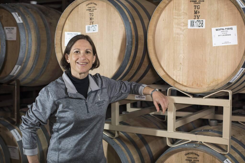 Linda Trotta, winemaker, Jamieson Ranch Vineyards, Napa Valley