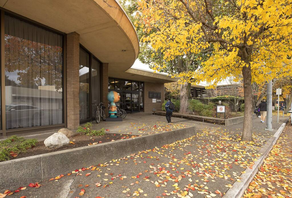 Some Sonoma County library branches that are closed because of the coronavirus outbreak are expected to offer curbside pickup beginning June 1, 2020. (JOHN BURGESS / The Press Democrat)