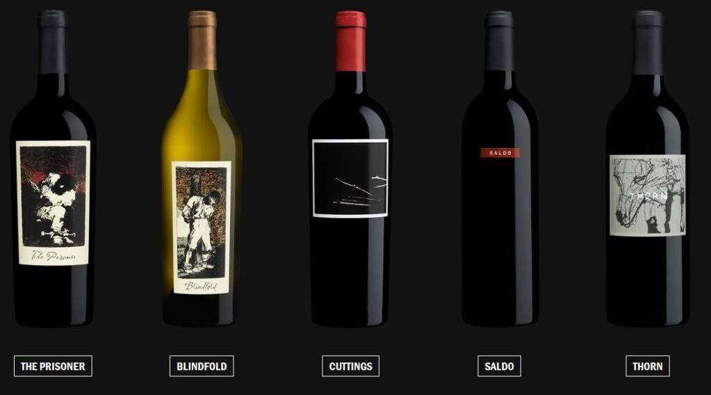 Constellation Brands is set to buy The Prisoner Wine Company portfolio in April 2016. (theprisonerwinecompany.com)