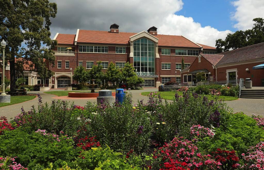 The Lawrence A. Bertolini Student Center on the SRJC campus (JOHN BURGESS/ PD)