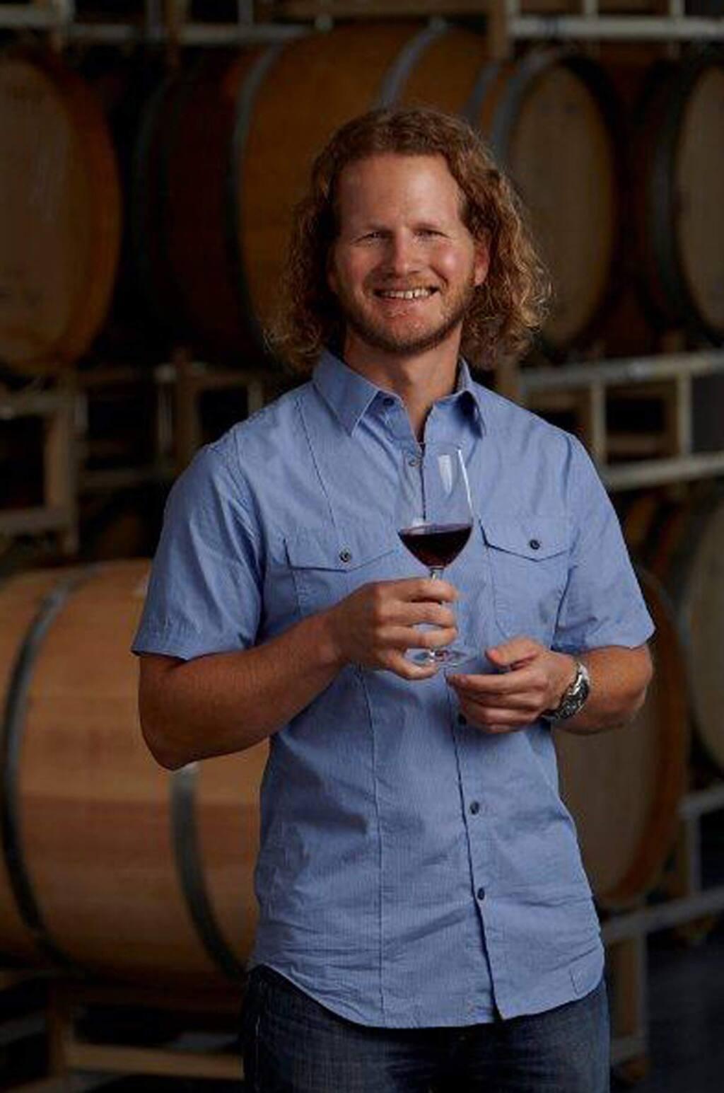 Joe Freeman, winemaker at River Road Family Vineyards & Winery in Sebastopol. (River Road Family Vineyards & Winery)