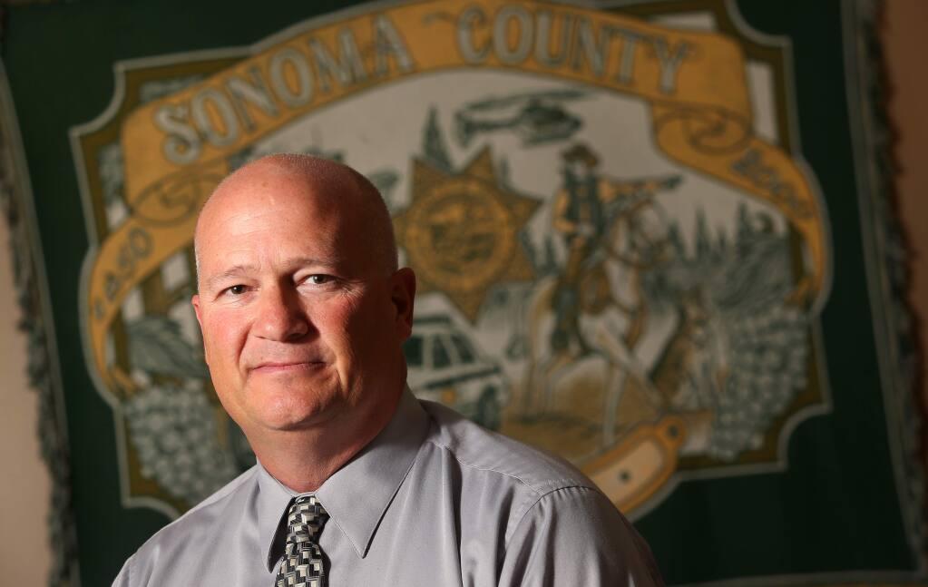 Sonoma County Sheriff Steve Freitas (CHRISTOPHER CHUNG/ PD FILE)