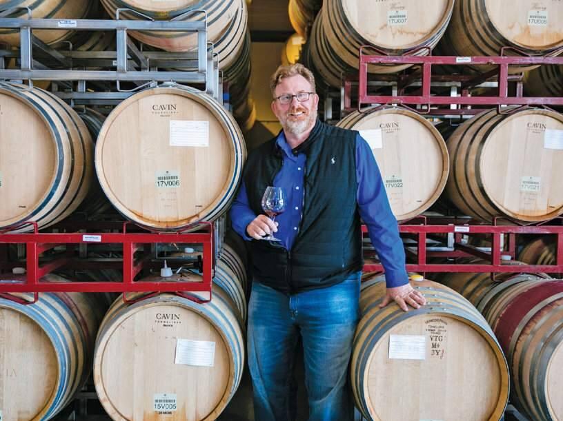 Benovia Winery's Joe Anderson (TYSON RININGER)