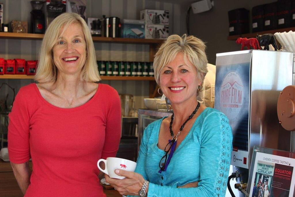 Helen Russell and Brooke McDonnell, owners of Equator Coffee
