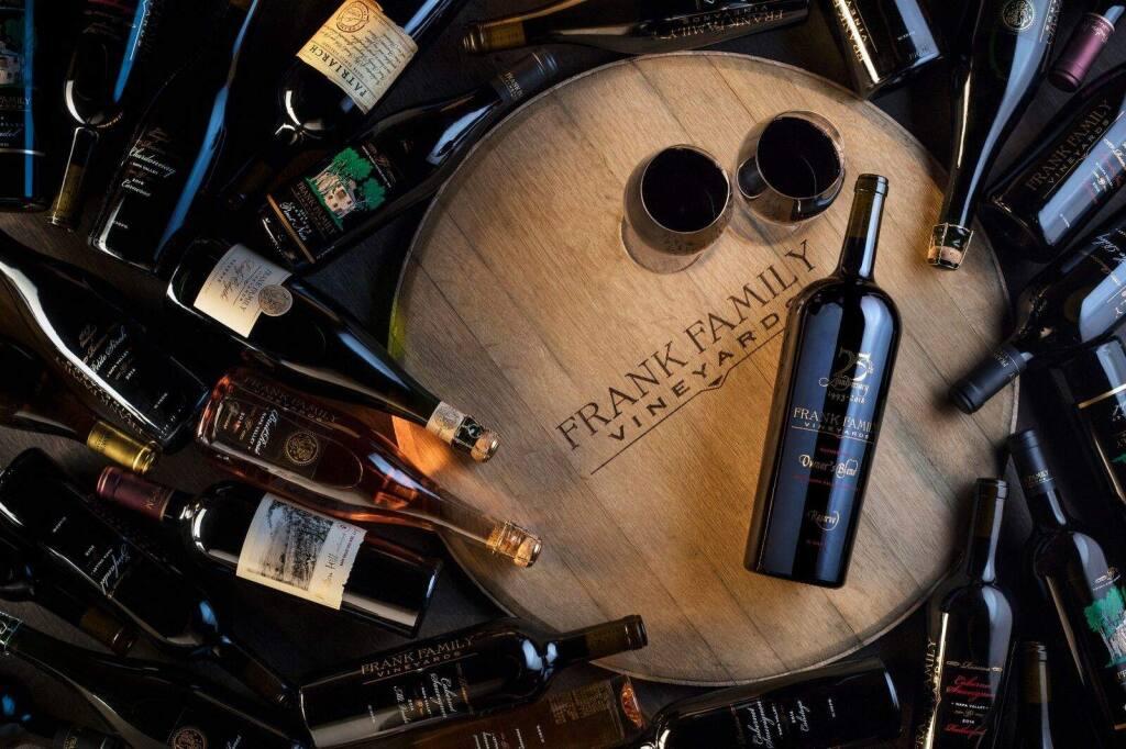Wines of Napa Valley's Frank Family Vineyards (courtesy photo)