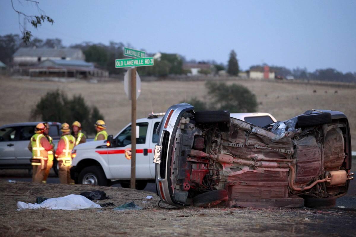 Survivors of fatal Lakeville Highway crash involving pizza oven file  lawsuits | The Press Democrat