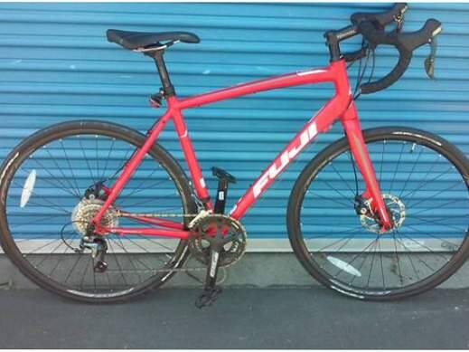 A bike reported as stolen, seen on a Craigslist ad. (SANTA ROSA POLICE DEPARTMENT)