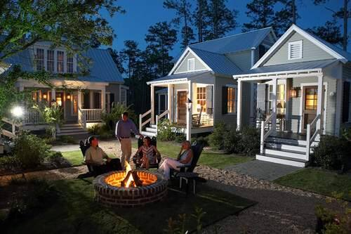 An example of a cottage community being developed by Palmetto MDR in Texas.