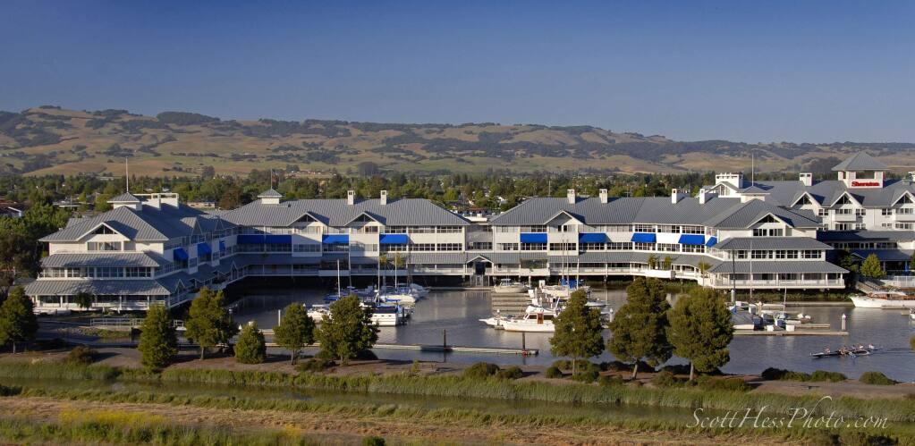Petaluma Marina Office Center and Sheraton Sonoma CountyñPetaluma hotel (Scott Hess Photography, May 21, 2007)
