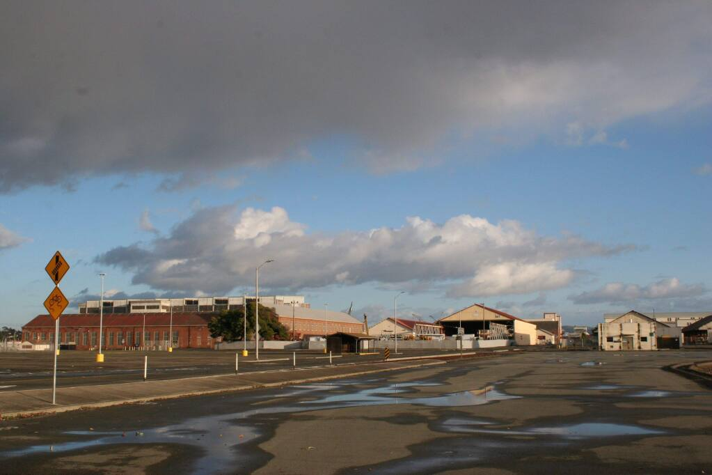 Vallejo's Mare Island former naval shipyard has stood virtually vacant for 30 years, until redevelopment started bringing in businesses in recent years. (Cynthia Sweeney / North Bay Business Journal) February 2018