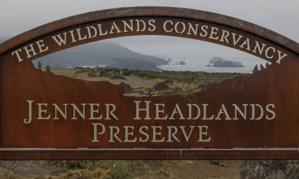 The Wildlands Conservancy Jenner Headlands Preserve will open to the public this Friday, September 7, 2018. (photo by John Burgess/The Press Democrat)