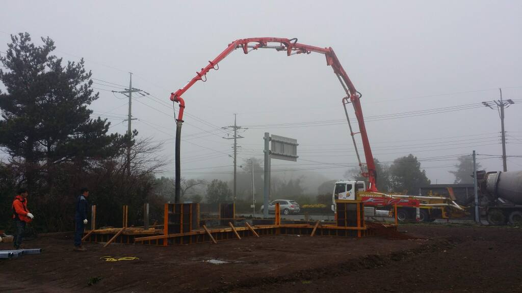 Construction is underway on the Don Taylor Omelette Express in Santa Rosa's sister city of Jeju, South Korea. The restaurant will open as a training café for residents of the AeSuhWon Center for Teenage Mothers and Children (Courtesy photo)