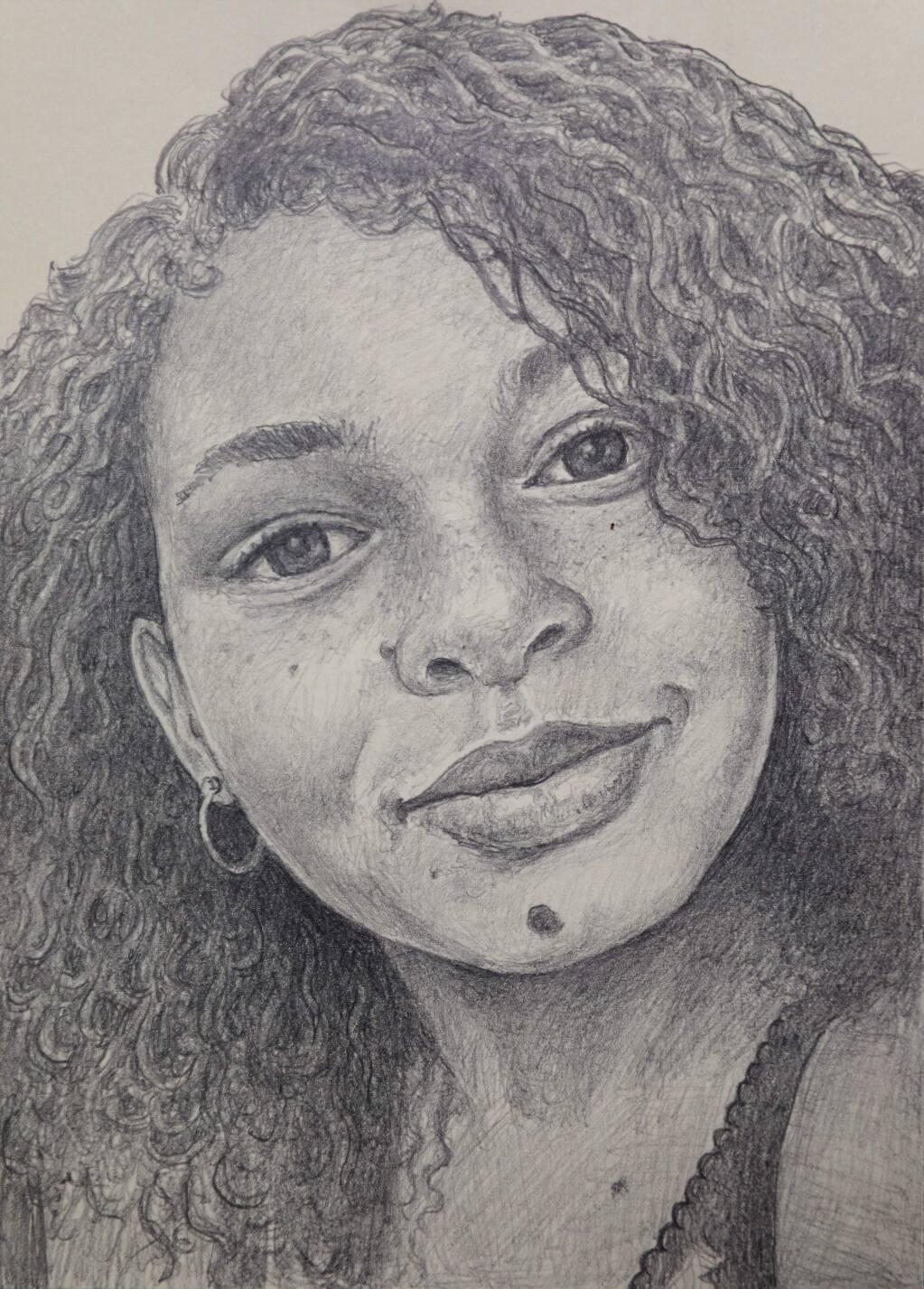 Helena Ramsay portrait by Tony Speirs.(Christopher Chung/ The Press Democrat)