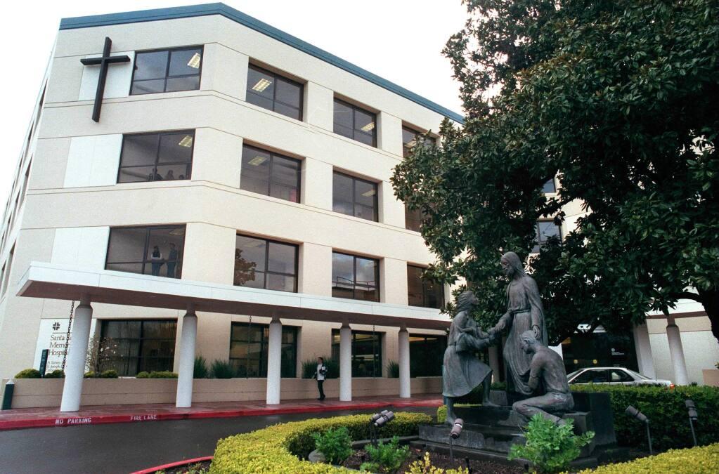Santa Rosa Memorial Hospital (PD FILE, 2001)