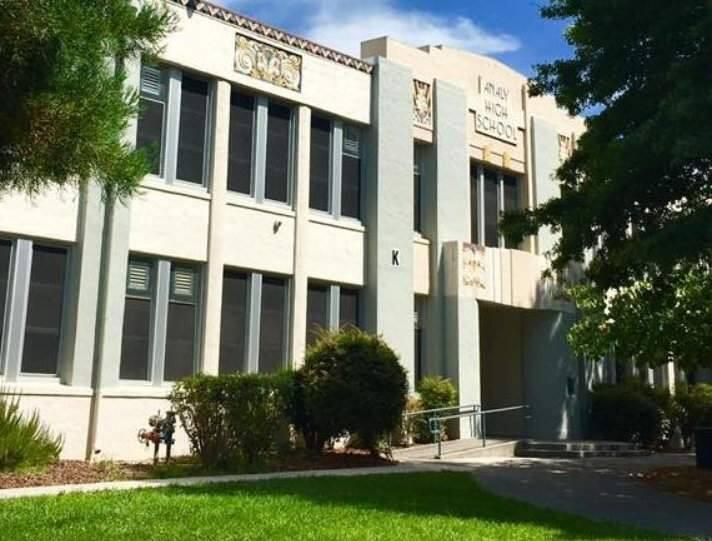 Analy High School in Sebastopol. (ANALY HIGH SCHOOL/ FACEBOOK)
