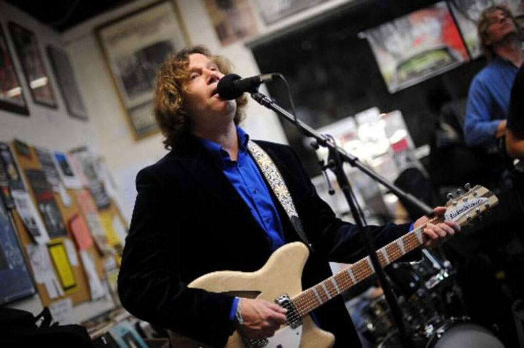 The Sorentinos Holiday Show Sonoma County singer/songwriter Danny Sorentino and his retro rock 'n' roll band are performing at Redwood Cafe in Cotati on Friday, Dec. 20. (The Press Democrat, file)