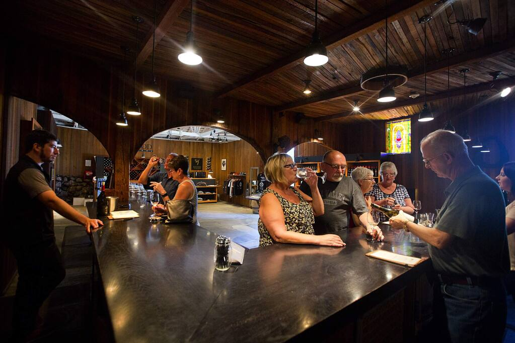 Kenwood Vineyards in Kenwood has plans to build a new tasting room and host up to 22 events per year. (JOHN BURGESS/The Press Democrat)