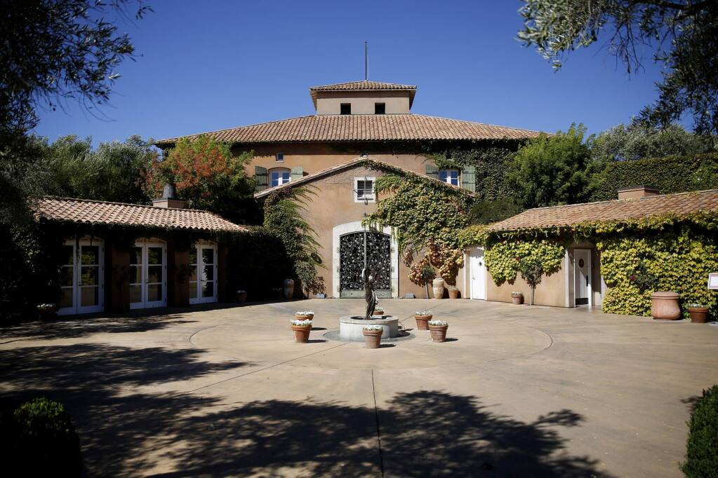 Viansa Sonoma, whose winery is seen here on August 27, 2013, is one of the more than 50 wine and spirits brands that are part of the Santa Rosa-based Vintages Wine Estates portfolio. (BETH SCHLANKER/ The Press Democrat)