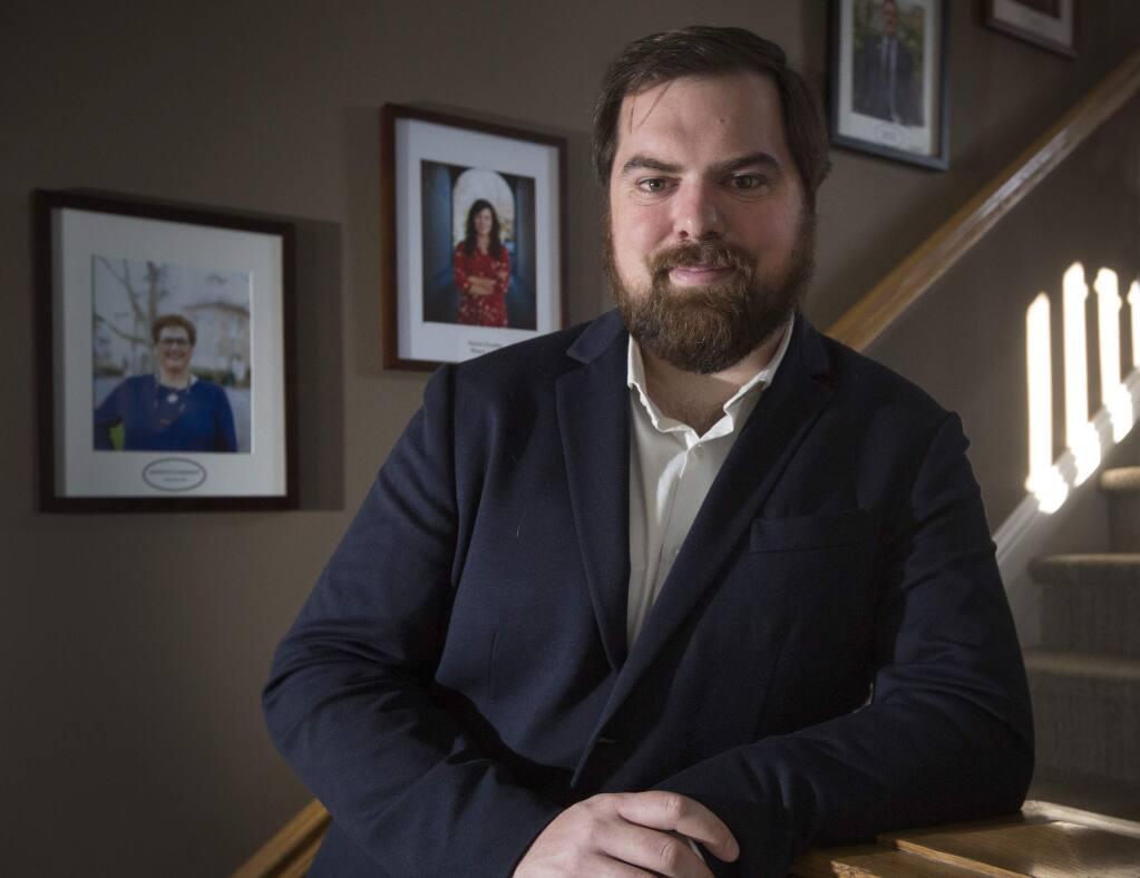 Logan Harvey, 32, mayor of Sonoma, is a 2020 Forty Under 40 winner. (Photo by Robbi Pengelly/Index-Tribune)
