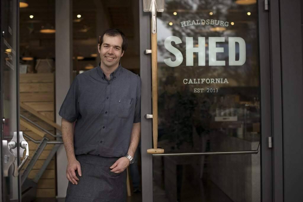 Perry Hoffman of Healdsburg Shed will lead a summer culinary adventure on June 18 at teh HomeFarm in Healdsburg.