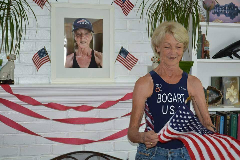 Submitted photoSonoma native and current Los Altos resident Mary Ann Bogart qualified for the Triathlon Age Group World Championships that will be held in Switzerland next year. Bogart finished third in her age group to qualify for the world meet.