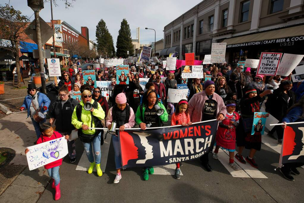 Santa Rosa P.D. Oct 19, 2020 Christmas Craft Show Dates About 1,000 join 4th annual Women's March in downtown Santa Rosa