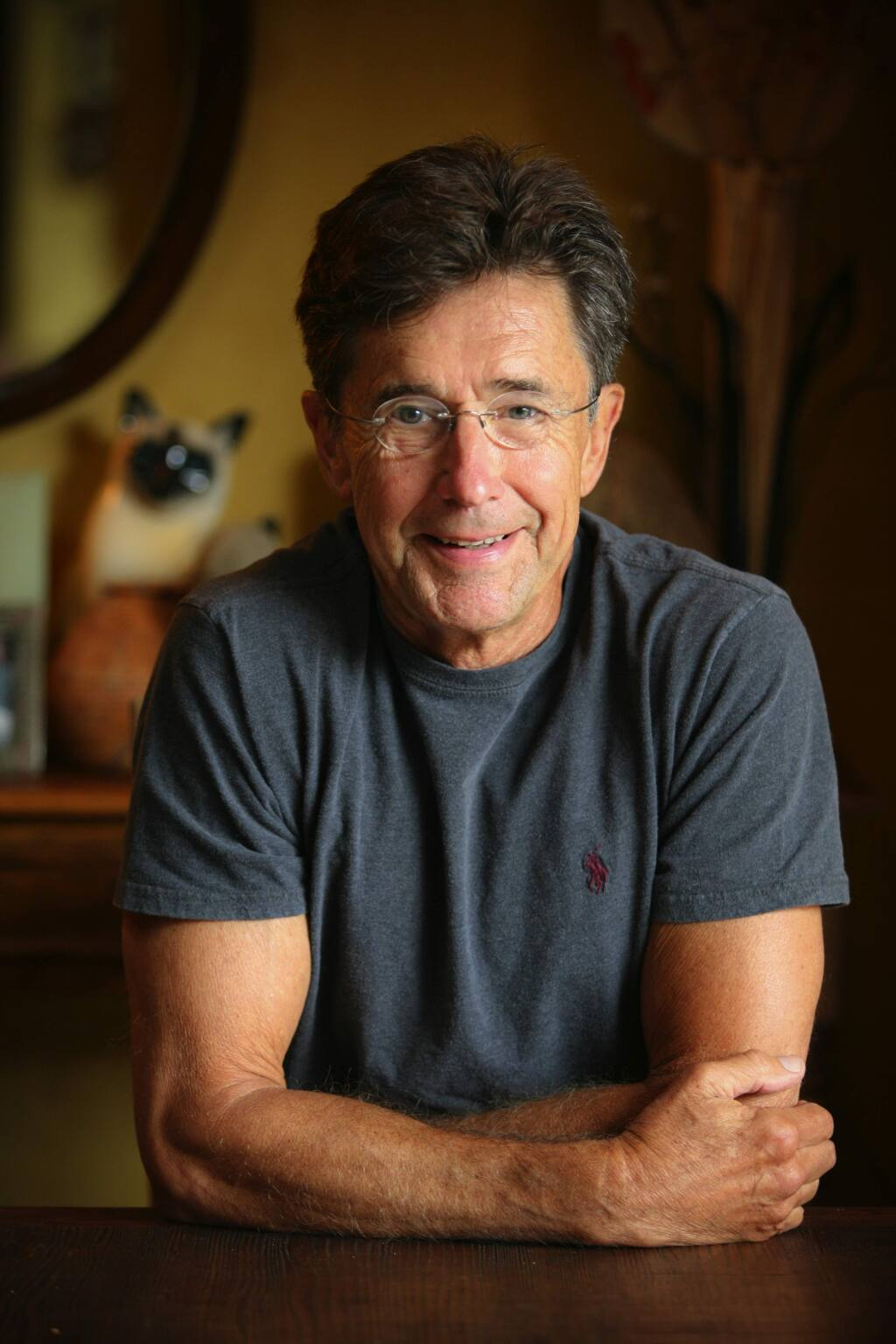James Conaway, author of many book, including three on the Napa Valley. (Copyright Peter Menzel)