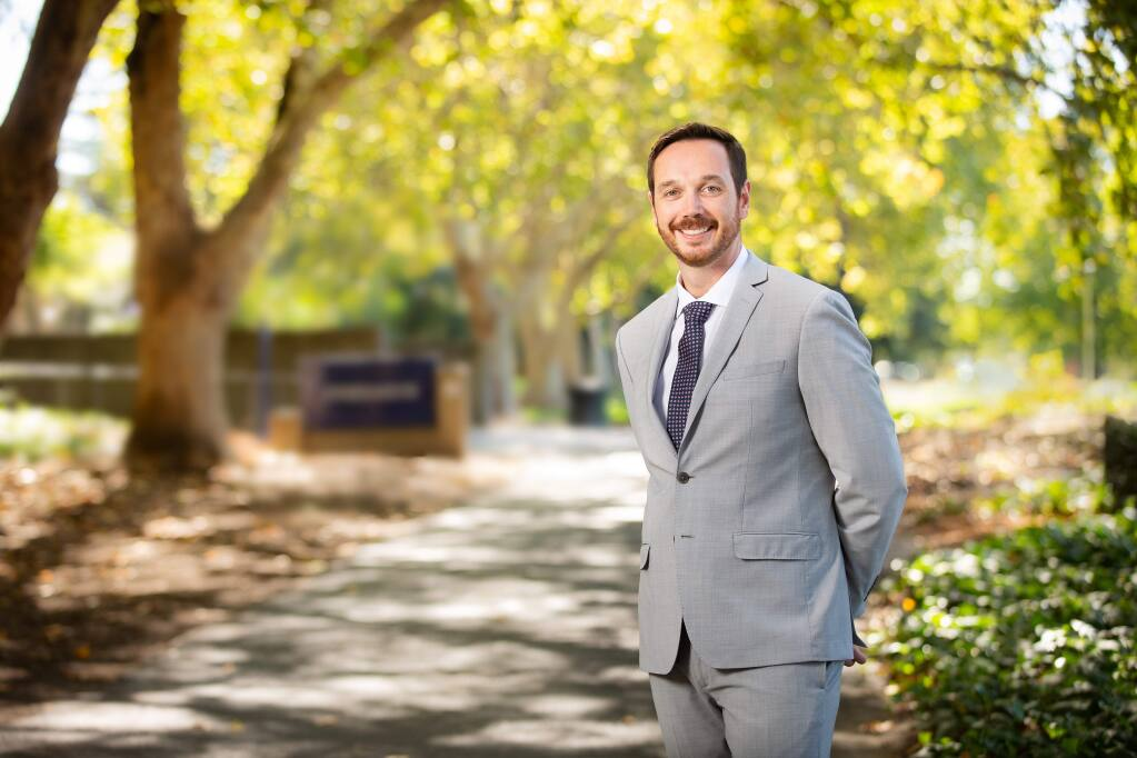 Enguerrand Guilloux, 37, director of programs for Icore International Inc. in Santa Rosa, is one of North Bay Business Journal's Forty Under 40 notable young professionals for 2019. (PROVIDED PHOTO)