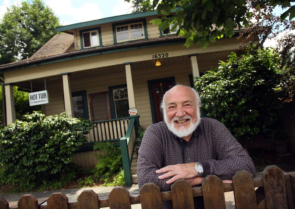 Alby Kass, owner of the River Lane Resort in Guerneville. (The Press Democrat file, 2011)