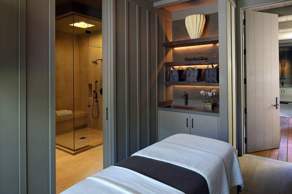 A Single Treatment Suite in the new Meadowood Spa. (PRNewsFoto/Meadowood Napa Valley)