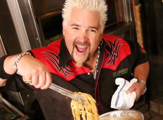 Guy Fieri has made The Hollywood Reporter's list of '20 Power Players of Food Media.'