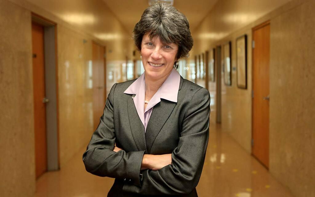 Sonoma County District Attorney Jill Ravitch in Santa Rosa. (Kent Porter / The Press Democrat, 2012)