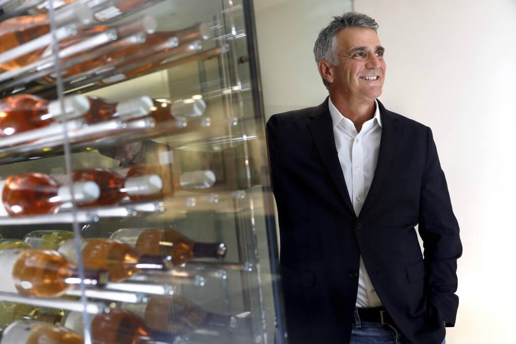Rick Tigner, CEO of Jackson Family Wines, in Santa Rosa on Thursday, Aug. 16, 2018. (BETH SCHLANKER/ PD)