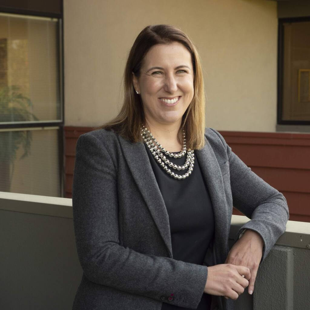 Stephanie Rothberg, 39, an attorney for Spaulding McCullough & Tansil in Santa Rosa, one of North Bay Business Journal's Forty Under 40 notable young professionals for 2019 (PROVIDED PHOTO)