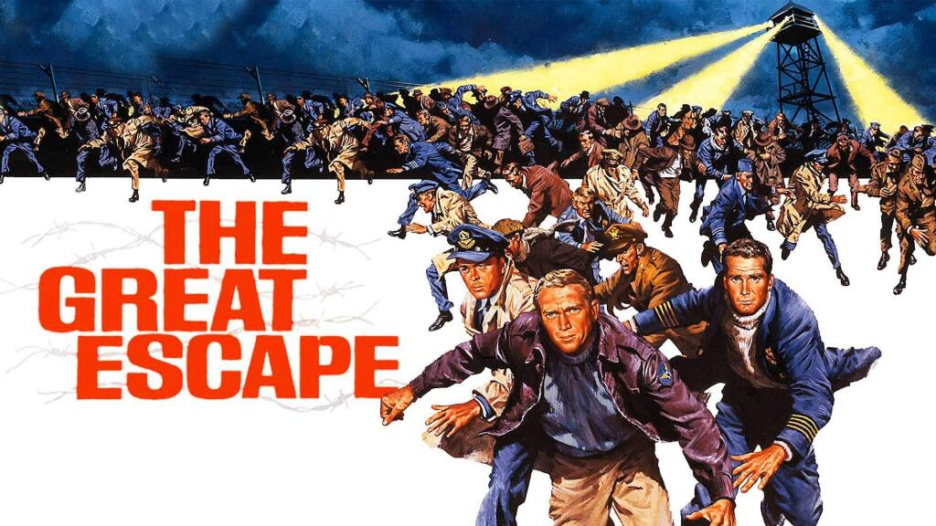 The poster from the film, 'The Great Escape.'