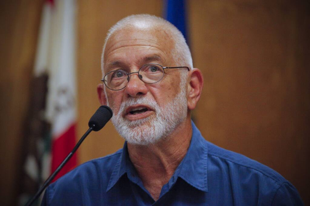 Dr Dennis Pocekay ran for Petaluma City Council. (CRISSY PASCUAL/ARGUS-COURIER STAFF)