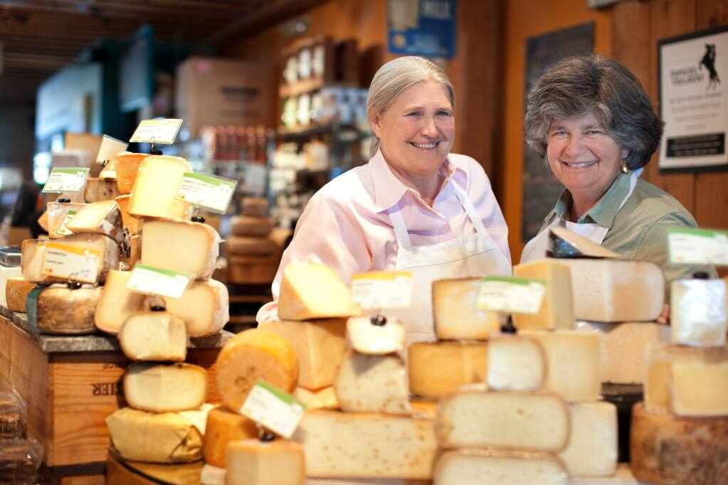 Cowgirl Creamery founders Peggy Smith and Sue Conley on Sept. 28, 2011 (PROVIDED PHOTO)