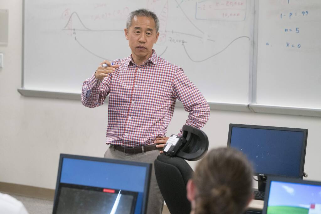 Yung-Jae Lee became dean of Dominican University of California's Barowsky School of Business in August 2019. He previously was an associate dean at St. Mary's College of California in Moraga. (courtesy photo)