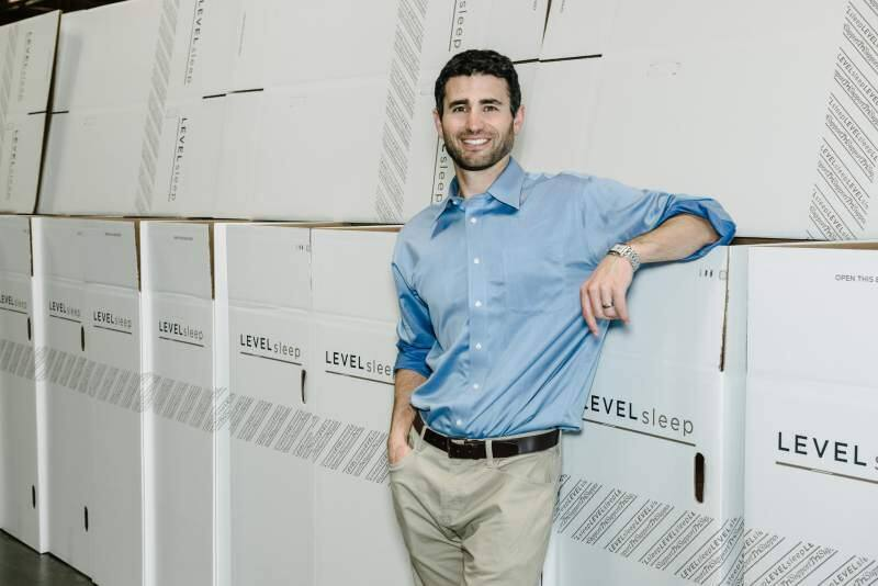 JJ Abodeely, founder and CEO of Level Sleep.