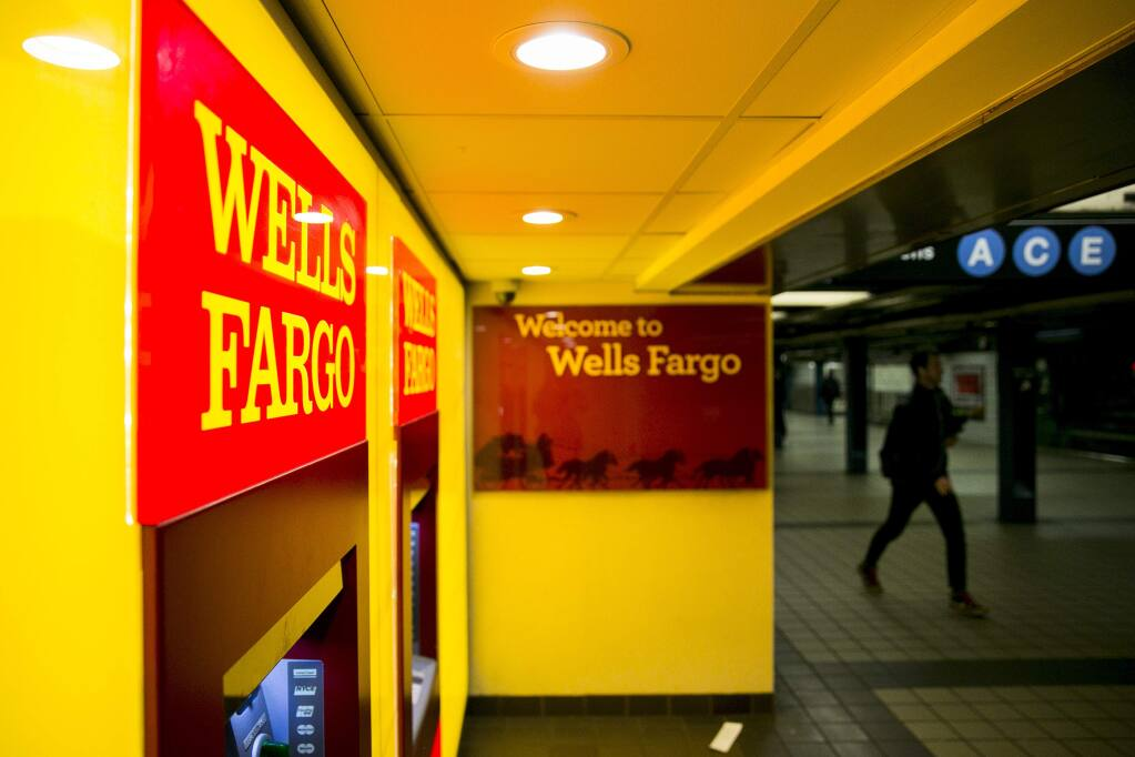 Wells Fargo has pointed to mandatory arbitration agreements to avoid public litigation of some consumer complaints about accounts created without authorization. A bill by state Sen. Bill Dodd, D-Napa, would carve out an exemption in such cases. (SAM HODGSON / New York Times)